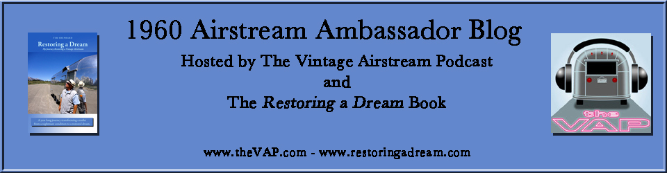 1960 Airstream Ambassador Blog!