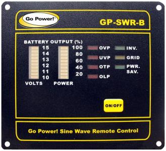 GoPower Remote Panel