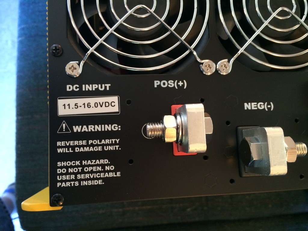 """Fleet"" inverter with 11.5v low voltage cutoff"